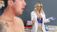 Doctor Adventures – My Stepmom's Physical Katie Morgan & Jessy Jones