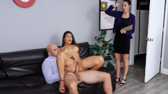 Big Tits At School – Teachers' Lounge Katana Kombat & JMac