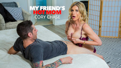 MyFriendsHotMom – Cory Chase Makes Her Son's Friend Earn His Stay