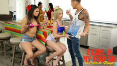 MyFamilyPies – I Came In My Step Sis On Cinco De Mayo Kiara Cole And Ms Faris