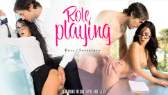 EroticaX – Role Playing Boss/Secretary Megan Rain