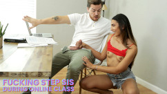 BrattySis – Angelica Cruz My Step Sister Sucked My Dick During Online Class